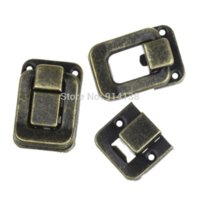 antique trunks - 10 Sets Toggle Catch Latch Suitcase Case Box Trunk Box Antique Bronze cm x cm cm x cm B01199