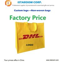 bamboo fabric china - China factory different style Custom shopping bag non woven OEM logo printing for Advertising promotional gift bags