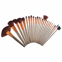 Wholesale Factory Direct Makeup Brushes Nude piece Professional Brush sets Gold package