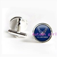 air force tie - J Air Force Cufflinks U S Air Force Cuff Links Custom Army Cufflinks tie clips Custom Father Gifts Father s Day Jewelry groom cuff