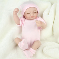 Cheap Free Shipping Hot Sell New Deign Reborn Baby Doll Fronzen Princess Girl's Great Present Soft Silicone Vinyl Doll