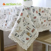 Wholesale New Arrival Table Cloth High Towel High Quality Lace Tablecloth Decorative Elegant Table Cloth Linen Table Cover HH1536