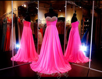 beautiful roses pictures - Beautiful Chiffon A Line Sweetheart Neck Sleeveless Backless Long Dress With Pleat And Beading Prom Dresses Rose Chiffon Evening Dress