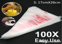 Wholesale Disposable Cream Pastry Bags Cake Icing Piping Decorating Tool Kitchen Accessories S M L size
