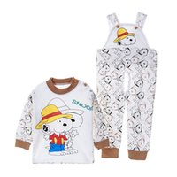 Wholesale Newborn Autumn Ins Infant Baby Rompers Kids Long Sleeve Printed Cotton One piece Children Pants Overalls Boys Girls Climb Cothes