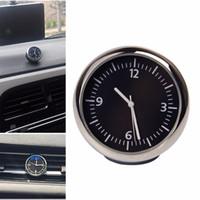 Wholesale New High Quality Luminova Car Mechanics Quartz Clock Mini Noctilucent Watch Digital Pointer for Auto Decoration Supplies