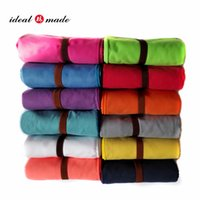 Wholesale Hot sales Brand New X large size swimming towel microfiber suede more than colors drop shipping
