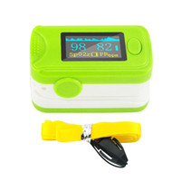 best color monitor - 2015 Best Selling Green Color OLED Fingertip Pulse Oximeter With Audio Alarm Pulse Sound Spo2 Monitor Finger Puls Oximeter