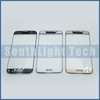 Wholesale Original Promise For Samsung Galaxy S7 Edge G935 G935F G935A LCD Touch Screen Front Outer Glass Lens Parts Blue White Gold
