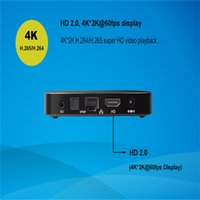Receivers DVB-T Included 10pcs TX5 Android 6.0 Amlogic S905X Quad core Set top box 2G 8G Android TV Box HDMI H.265 WIFI Media Player Smart tv box