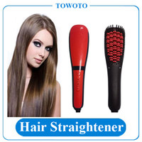 automatic spray machine - Hair Straightener Brush Automatic LCD Comb Digital Electric Hair Straightening Irons Hair Comb With Spray Styling Machine VS DAFNI Hair Comb