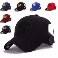 baseball cap flex fit - NEW Men s Fashion Superman Hip Hop Adjustable Cap Flex Fit Snapback Baseball Hat