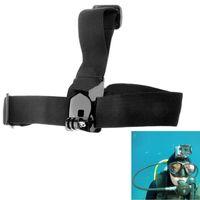 Wholesale TMC Anti skid Adjustable Elastic Head Strap Belt for GoPro Hero gopro Anti skid head belt gopro head straps