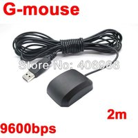 Wholesale DIYMALL UBLOX GPS GModule with Antenna USB interface G Mouse LUY VK Replace GlobalSat BU S4 FZ0576