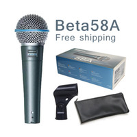 beta boxes - New box New lable Top Quality New Beta A Clear Sound Handheld Wired Karaoke Microphone