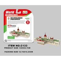 Wholesale HOT New arrival D Puzzle Diy Assembled Paper Puzzle Adult children toy gifts The World Famous Buildings Model C133