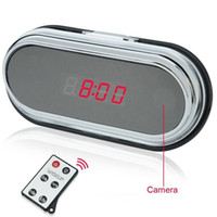 activate ir cameras - Spy Video Clock Camera HD IR Remote Camera G Mega CMOS Wide Angle Clock Audio Video Recorder Motion Activated Clock Spy