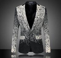 autumn dish - Plus Size M XL Men Casual Blazers Designer Brand Autumn Fashion Business Dress High Quality Dish Silk Suit Jacket