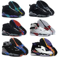 Wholesale new High Quality air Retro basketball shoes men Retro VIII Athletic Boots Retro BRED sports shoes Sneakers