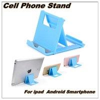adjustable desktop stand - Phone Stand Multi Angle Adjustable Portable Foldable Folding Universal Lazy Desktop Cell Phone Cradles Stands Mounts Holder