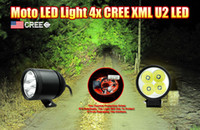 Wholesale 2016 newest W LM XML U2 Cree LED Work Light Spot Lamp Driving Fog V Car x4 Motorcycle Boat ATV