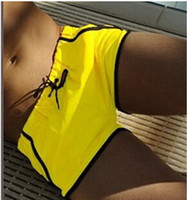 beach men wear - New Mens Swimwear Swimming trunks Sexy Slim Men Swimsuit boxer bathing wear for Swimwear briefs man beach Shorts sunga XXL