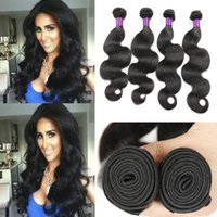american machine products - 8A Brazilian Hair wefts Body Wave Brazilian Human Hair Extension African American Human Hair Bellqueen Hair Products