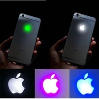 apple fluorescent lamps - iPhone Luminescent Glowing Logo LED Light Fluorescent Lamp Backlid Logo LED Replacement for iPhone Plus s s Plus withTools