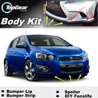 Wholesale Bumper Lip Lips For Holden Barina Front Skirt Deflector Spoiler For Car Tuning The Stig Recommend Body Kit Strip