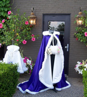 apricot beauty - 2016 Beauty and the Beast Bridal Capes in Royal Purple Color Full Length Handmade Wedding Cloaks Custom Made