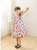 Cheap girls sleeveless dresses Best girls clothes summer