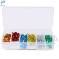 Wholesale 120pcs Car Auto Boat Truck Blade Type Fuse Box Assortment Kit A A A A A A Packing Box