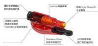 Wholesale 10pcs MIX Color Mini Car Safety Hammer With Keychain Good Quality Emergency Hammer