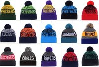 american match - 2016 New Sport Beanies American Football teams Baseball beanie for men Knitted Hats Mix match Snapbacks Hats album offered