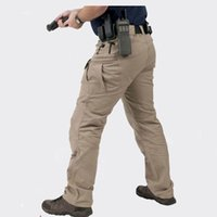 army security - TAD Archon IX7 Spring Military City Tactical Pants Men s Army Security Cargo Pants Combat Multi Pocketed Trousers