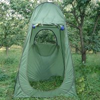 bathing shower doors - Fishing Outdoor Bathing Shower Toilet Room Pop UP tent Shelter portable sun shade watching sports tent Travel Camping Hiking bag