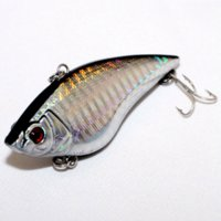 artificial lures for carp - Top grade Vib lure fly Fishing lures Fish Pesca Carp Bass Artificial bait For fishing Tackle Spoon Wobbler mm16 g