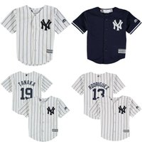 baby york - Cheap youth New York Yankees Derek Jeter Alex Rodriguez Masahiro Tanaka Baby old year Cool Base toddler Jersey stitched S L
