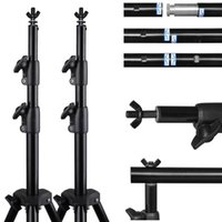 Wholesale 10Ft Adjustable Photography Background Support Stand Photo Backdrop Crossbar Kit