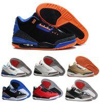 cyber monday - 2016 new Basketball Shoe Retro Cyber Monday OG True Blue white Black cement For Men Basketball Shoes