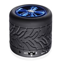 Wholesale 2017 new and retail hands free calls D stereo small audio wireless Bluetooth speakers mini card subwoofer good gift speaker