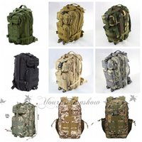 Wholesale DHL Free color Sport Outdoor camouflage mountaineering bag p military Tactical Backpack laptop Molle Rucksacks Camping Trekking bag Z267