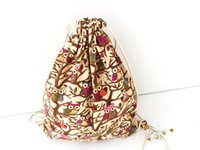 Wholesale Drawstring Bag Fashion Catoon backpacks Travel Cotton Linen bucket bag Man Women Backpack Mochila Feminina Canvas Bag