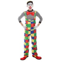 adult clown suit - Halloween Adult Clown Costume for Cosplay Costume Party Adult Bar Decoration Christmas Party Clown Suit