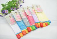 Wholesale Toes Yoga Gym Socks For Men Women Cotton Sports Stockings Short Boat Socks Cycling Hosiery Baseball Socks Slippers