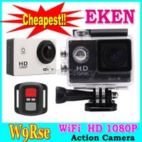 amateur boxing - EKEN W9Rse Gopro Style Action Camera inch HD P fps Waterproof M HDMI WIFI Remote controller DV Helmet Sports Cam Retail box