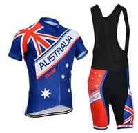 al por mayor jersey de ciclo de australia-Australia Ropa Ciclismo Ropa De Ciclismo / MTB Ropa De Bicicleta / Ropa De Bicicleta / 2016 uniforme de ciclismo Mans Ciclismo Jerseys 2XS-6XL A16