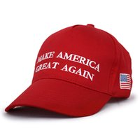 Wholesale Make America Great Again HAT Donald Trump HAT Republican CAP True Red donald trump Cap Hat trump america