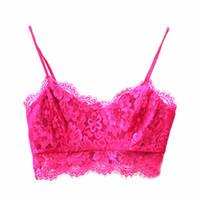 Bra Sets Others Others Wholesale-Women Bra Bustier Crop Top Lace Floral Unpadded Bralette Bralet Cami