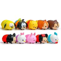 bathing pillow - 10Pcs CM Tsum Tsum Donald Mickey Winnie Duck Toys Cute Elf Doll Bathing Toy Juguetes For Chirldren Gift